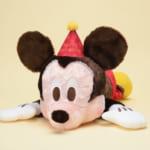 ミッキーマウス 赤いほっぺ ギガジャンボ寝そべりバースデーぬいぐるみ