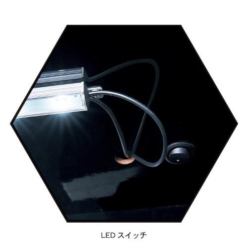 LEDライト付きコレクションキャビネット04