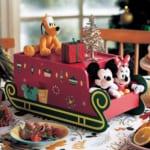 クリスマスデザインの卓上小物収納ボックス