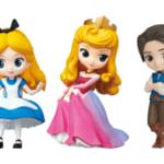 バンプレスト ディズニー「Disney Characters Q posket petit -Alice・Princess Aurora・Flynn Rider-」集合