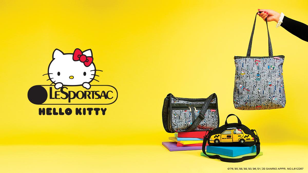 レスポートサック「Hello Kitty×LeSportsac」コレクション