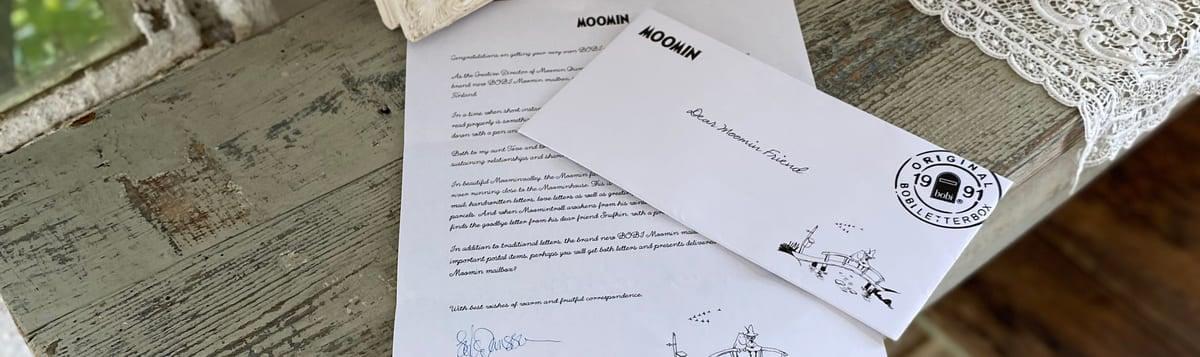 ムーミンフレンズへの手紙