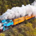 蒸気機関車「きかんしゃトーマス号」の特別運転