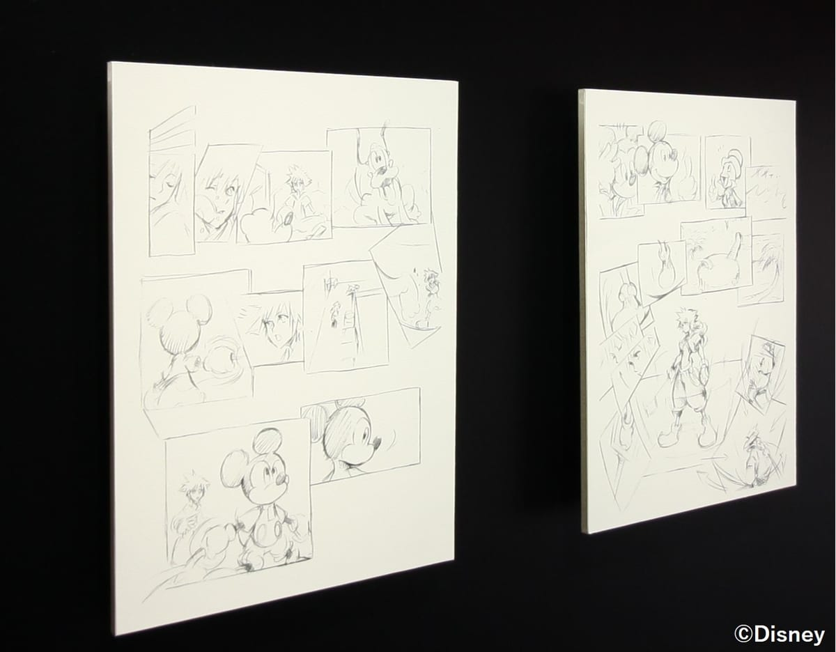 "Tetsuya Nomura ""Sketches from KINGDOM HEARTS Re:coded"""