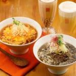 春水堂 黒胡麻担々麺 鶏と生姜の酸辣湯麺