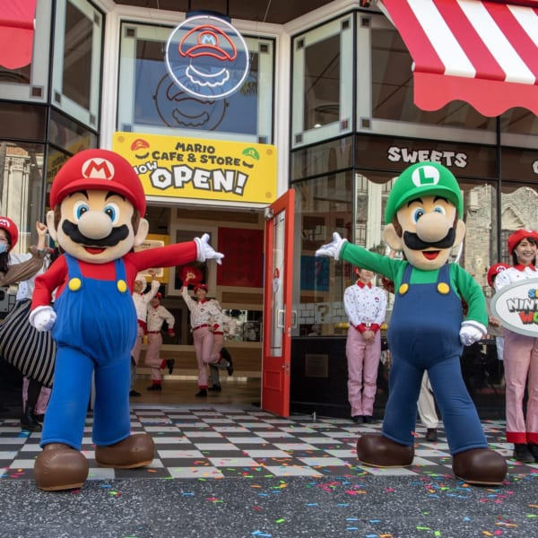 マリオの世界を楽しめるメニュー&グッズ!ユニバーサル・スタジオ・ジャパン『マリオ・カフェ&ストア』