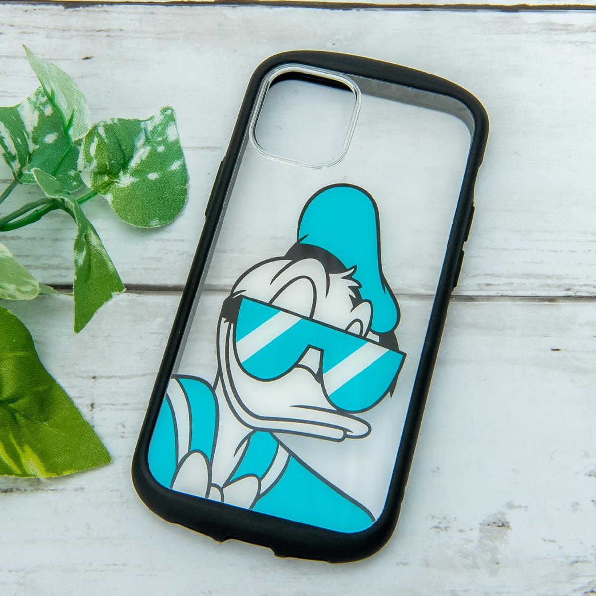 PGA「ディズニー」iPhone 12 mini、iPhone 12 /12 Pro用ガラスタフケース ドナルドダック