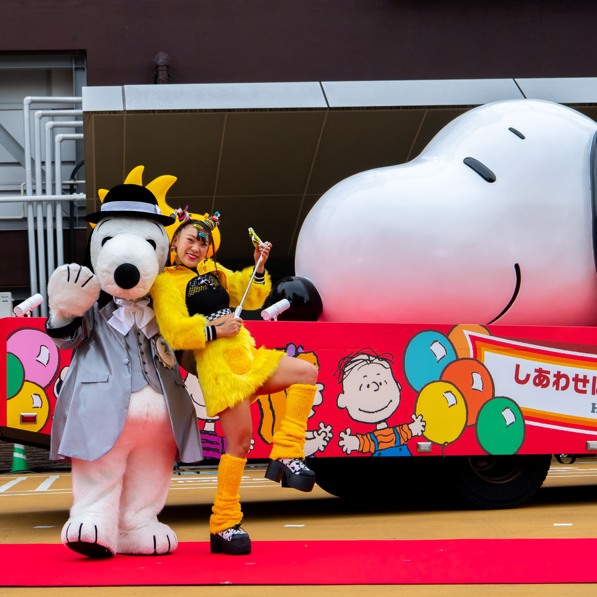 SNOOPY HAPPINESS FLOAT(スヌーピー ハピネスフロート)出発式