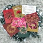 ダイゴー「日比谷花壇のフラワークリスマスカード」