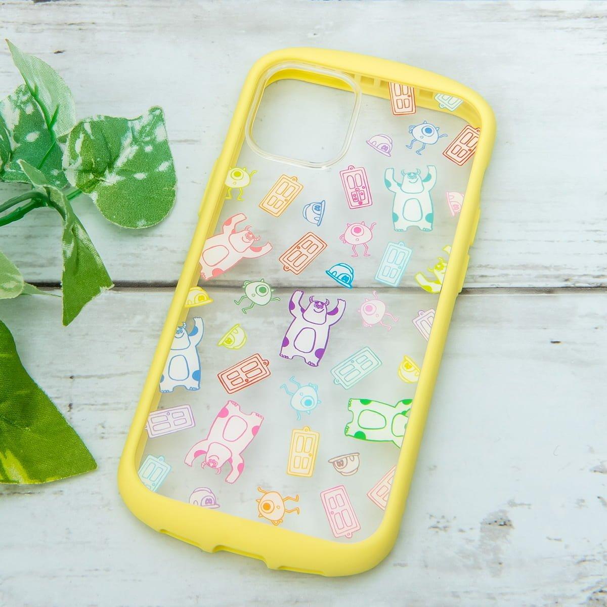 PGA「ディズニー」iPhone 12 mini、iPhone 12 /12 Pro用ガラスタフケース モンスターズ・インク