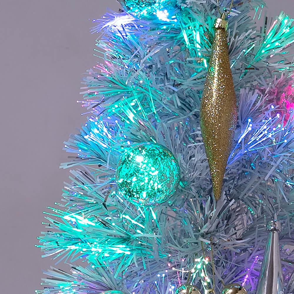 クリスマスツリー シャイニーホワイト オーナメント2
