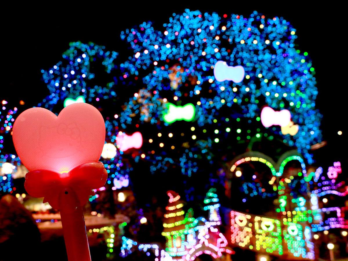 クリスマス限定イルミネーションと ミラクル♡ライト