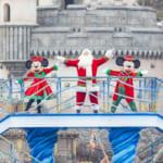 ミッキーマウス&ミニーマウス&サンタクロース