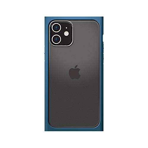 iPhone12用ガラスフタケーススクエアタイプ ネイビー3
