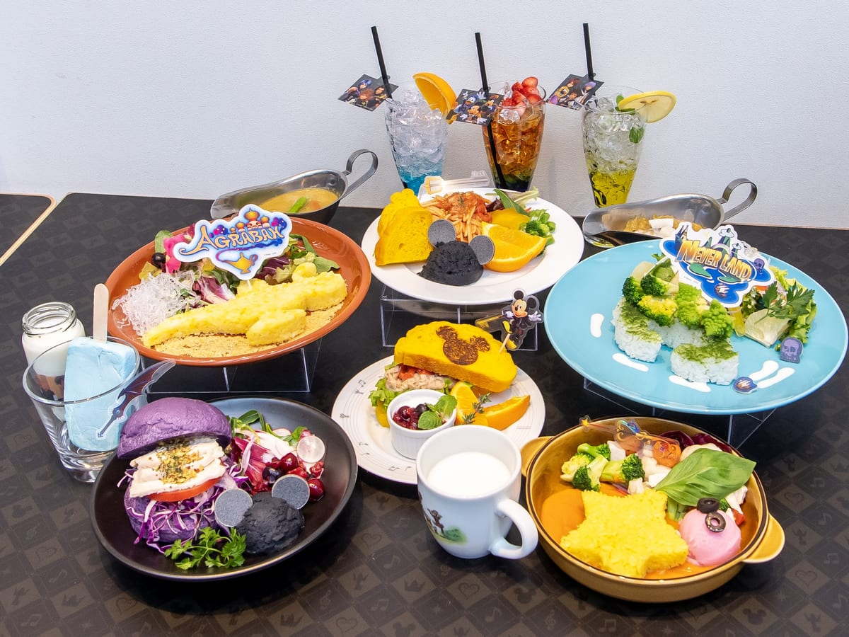 OH MY CAFE プロデュース「KINGDOM HEARTS Melody of Memory」 Cafe メニュー集合
