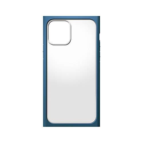 iPhone12用ガラスフタケーススクエアタイプ ネイビー2