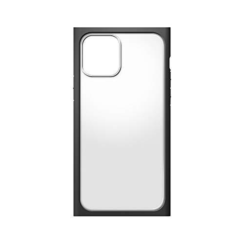iPhone12用ガラスフタケーススクエアタイプ ブラック2