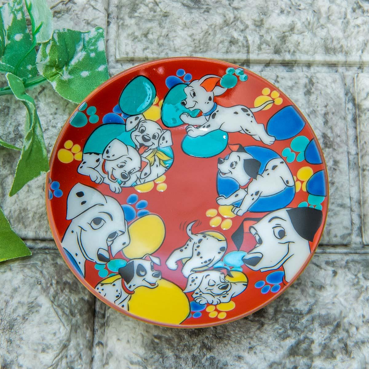 Disney Classics MARKET(ディズニー クラシックス マーケット)「九谷焼豆皿セット」101匹わんちゃん
