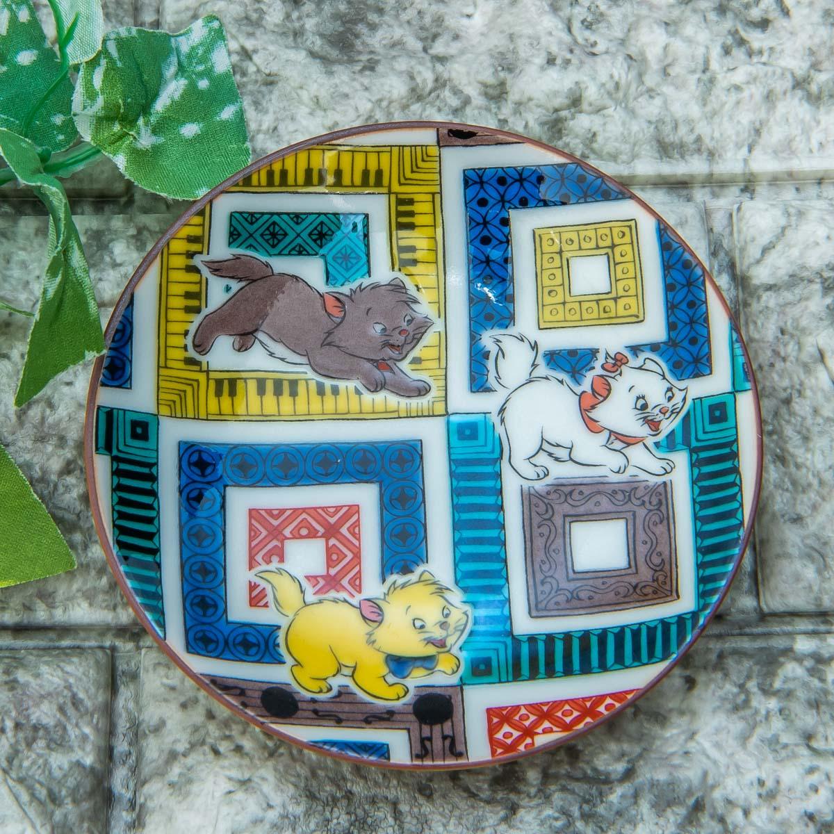 Disney Classics MARKET(ディズニー クラシックス マーケット)「九谷焼豆皿セット」おしゃれキャット