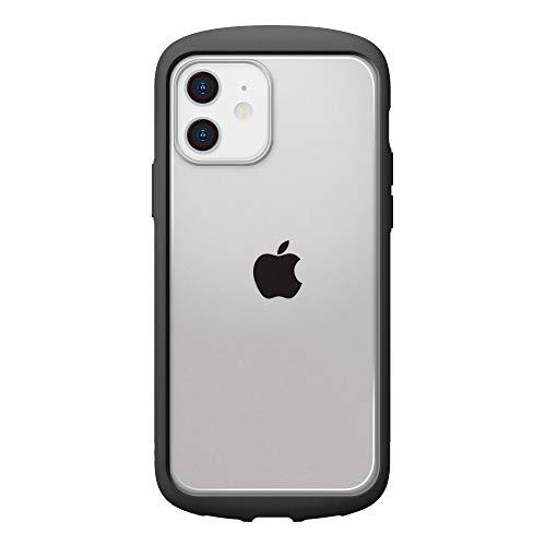 iPhone12用ガラスフタケースラウンドタイプ ブラック3
