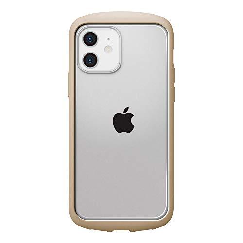iPhone12用ガラスフタケースラウンドタイプ ベージュ3