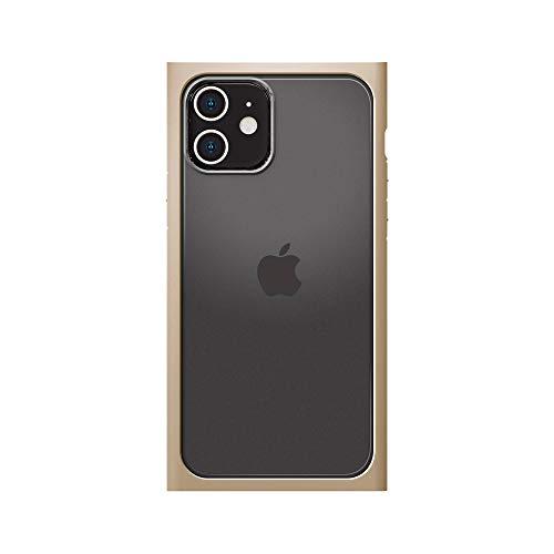 iPhone12用ガラスフタケーススクエアタイプ ベージュ3