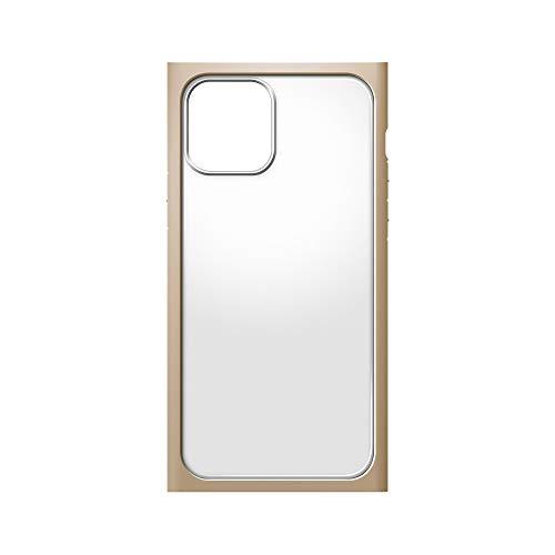 iPhone12用ガラスフタケーススクエアタイプ ベージュ2