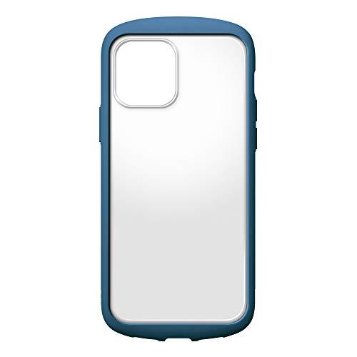 iPhone12用ガラスフタケースラウンドタイプ ネイビー2