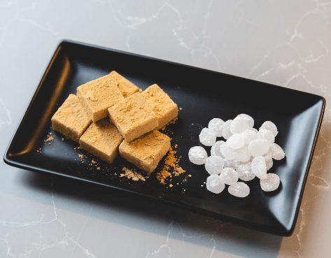 粒わらび餅 きな粉の生チョコレート