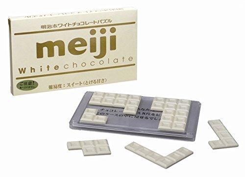 明治ホワイトチョコレートパズル スイート(とける甘さ)