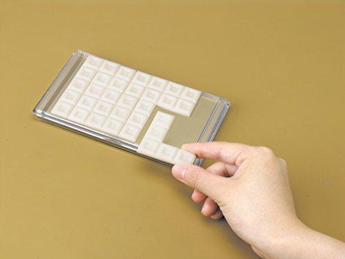 明治ホワイトチョコレートパズル スイート(とける甘さ) 使用例