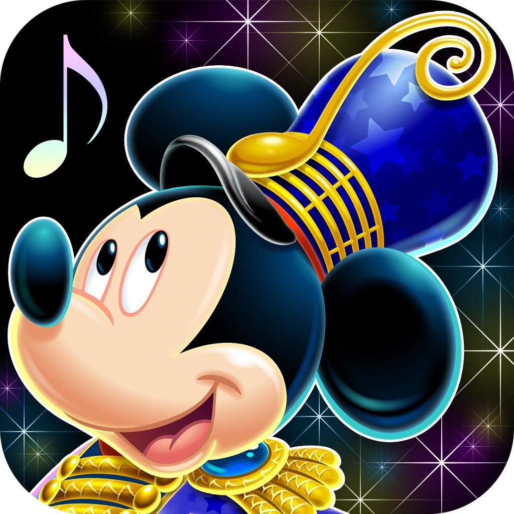 『ディズニー ミュージックパレード』アプリアイコン
