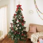 240cmのクリスマスツリー「ミッキー&ミニー」