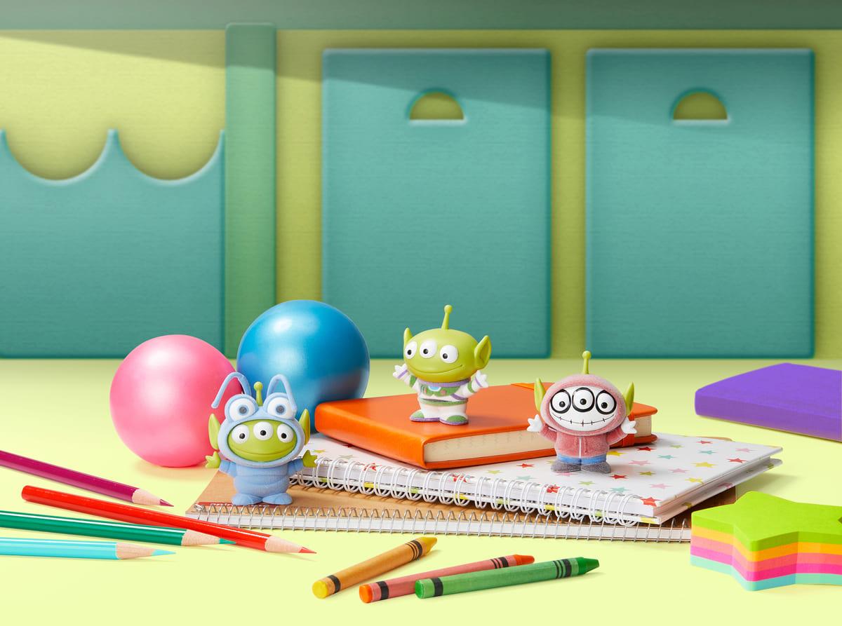 PIXAR Characters Fluffy Puffy MINE〜コスチュームエイリアン〜vol.2