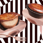 BAKE CHEESE TART「チョコレートチーズタルト/チョコレートチーズスフレ」