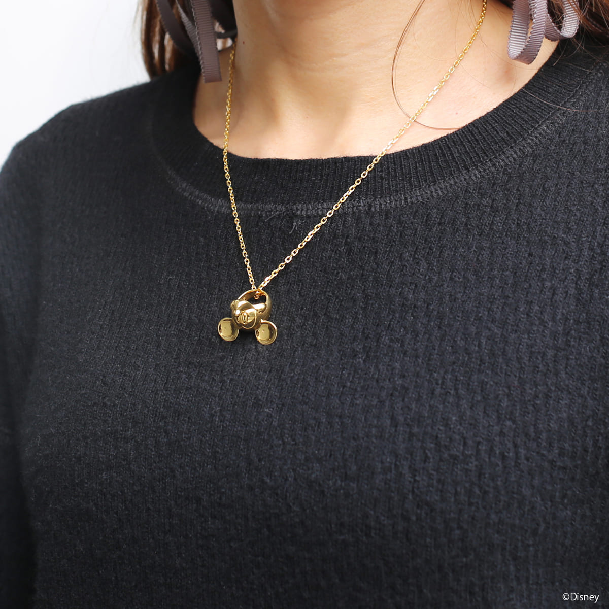 """""""MICKEY"""" FACE NECKLACE レディース"""
