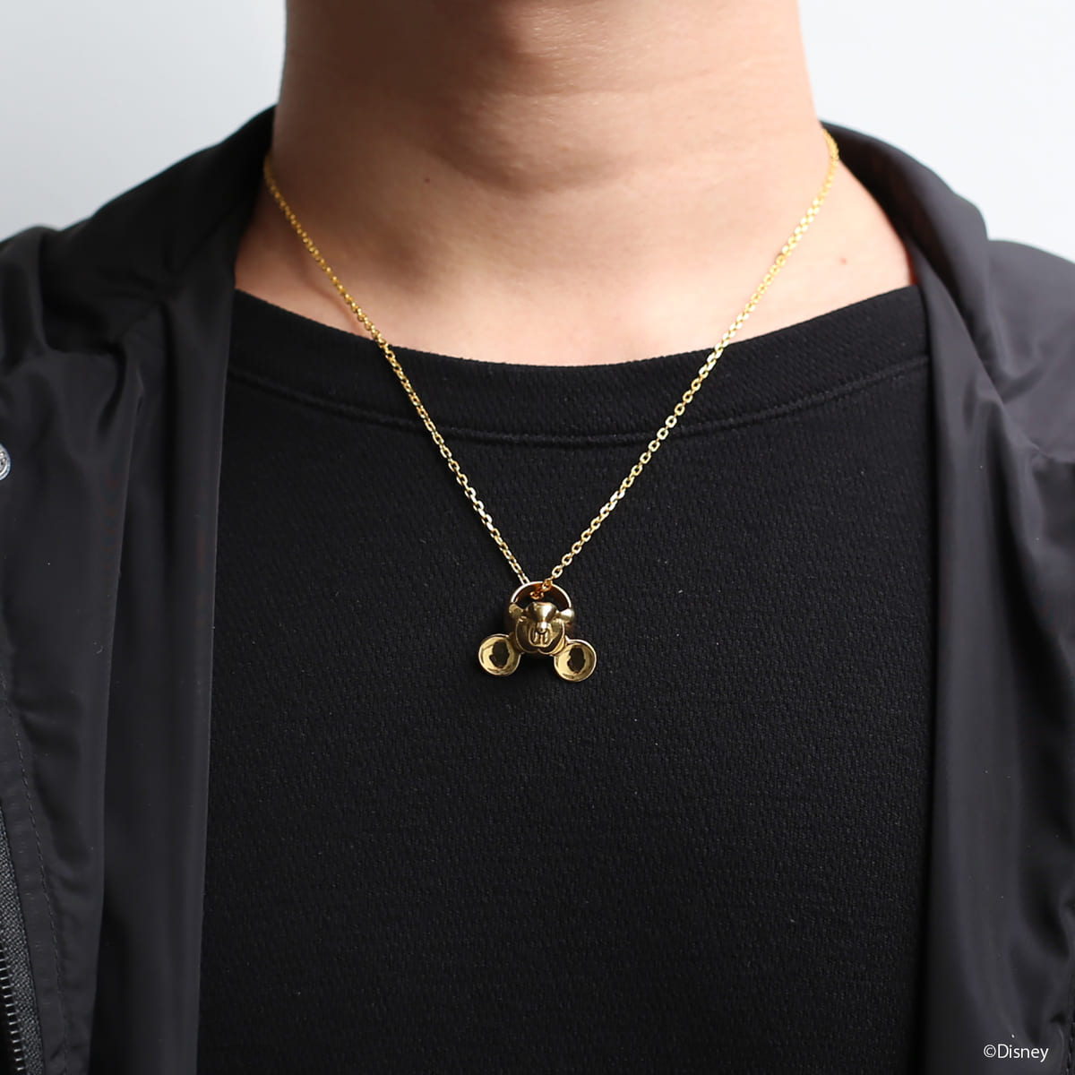 """""""MICKEY"""" FACE NECKLACE メンズ"""