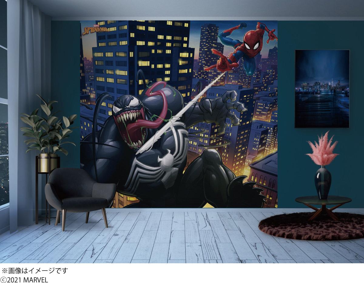 貼ってはがせる壁紙Decol(デコル) MARVEL(マーベル)『SPIDER-MAN』スパイダーマンm032-01-T