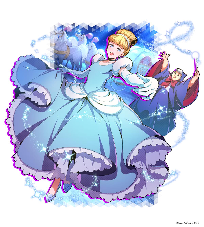 ★5カード「【真夜中までの素敵な夢】シンデレラ」