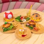 ユニバーサル・スタジオ・ジャパン『スーパー・ニンテンドー・ワールド』レストラン「キノピオ・カフェ」メニュー集合