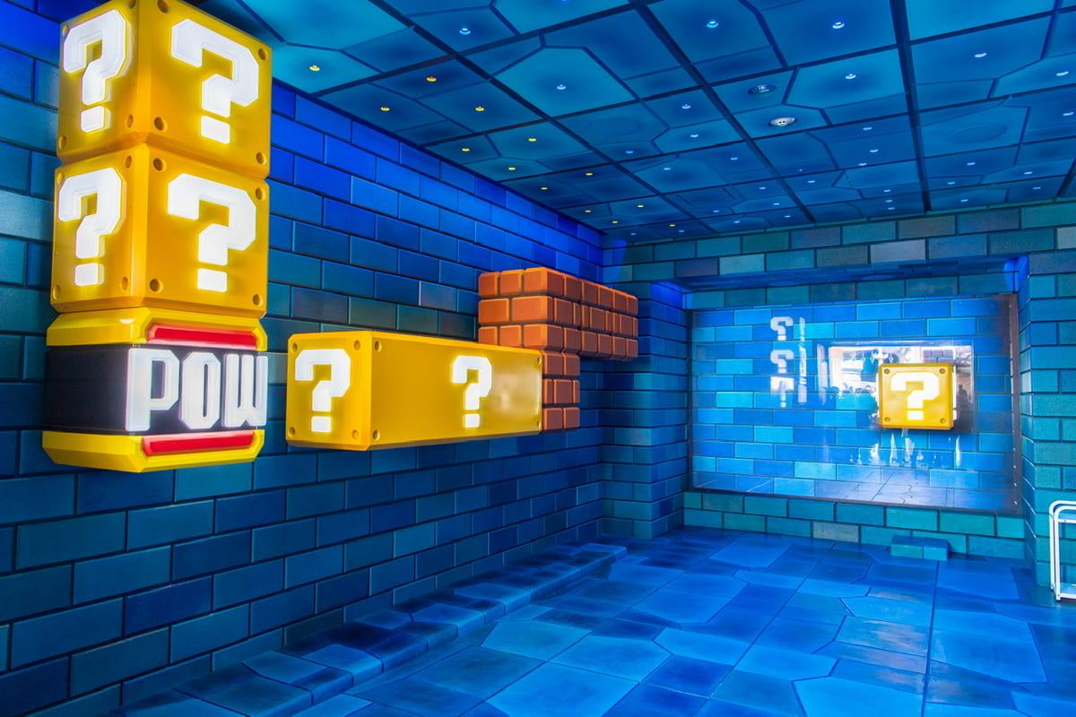 ユニバーサル・スタジオ・ジャパン『SUPER NINTENDO WORLD(スーパー・ニンテンドー・ワールド)』地下ステージ