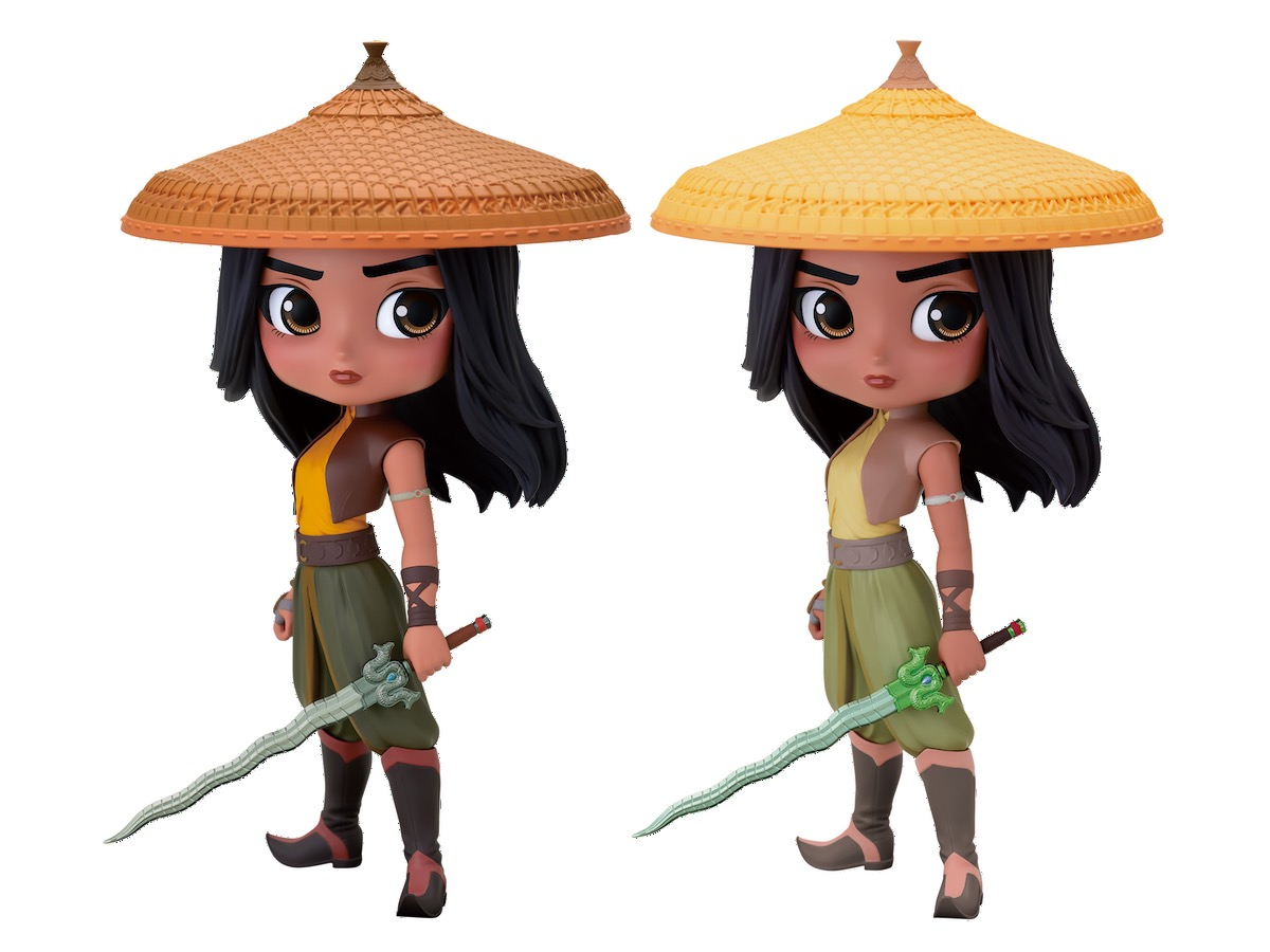 Q posket Disney Characters -Raya- ラインナップ