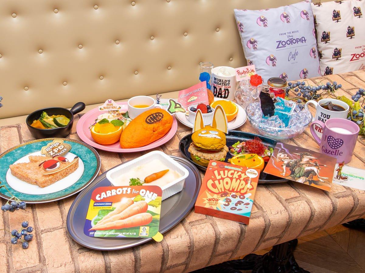 メニューやグッズが楽しめるスペシャルカフェ!ディズニー「ズートピア」OH MY CAFE