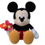 ミッキーマウス メガジャンボお花と一緒ぬいぐるみ