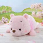くまのプーさん 赤いほっぺ メガジャンボ桜カラー寝そべりぬいぐるみ