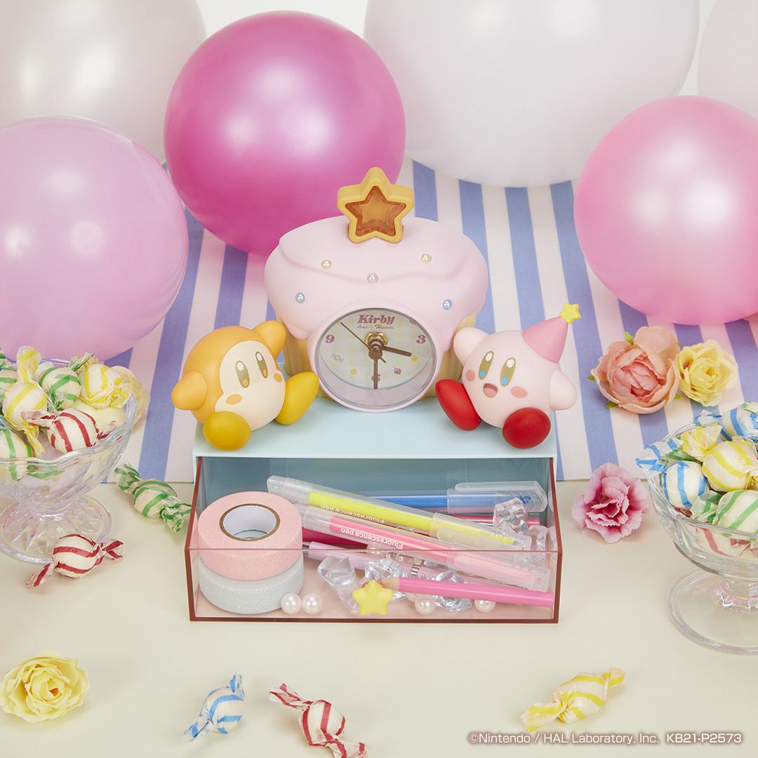 B賞:カップケーキの時計つきチェスト