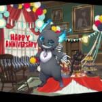 スマホゲーム『ディズニー ツイステッドワンダーランド』「1stアニバーサリー」キャンペーン SRグリム ストライプリボン