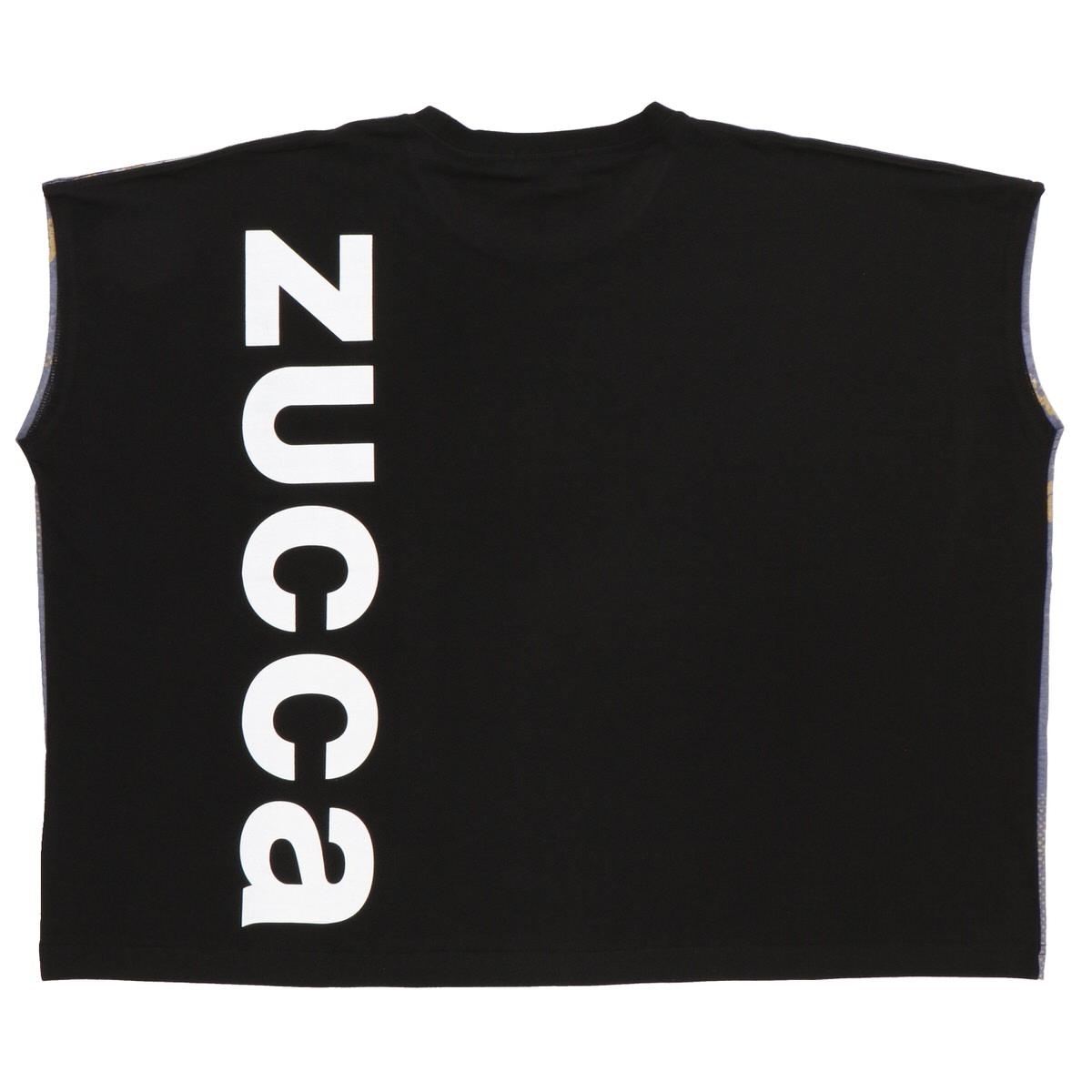 Tシャツ〈ZUCCa〉実写 ミッキーマウス&ミニーマウス ブラック2
