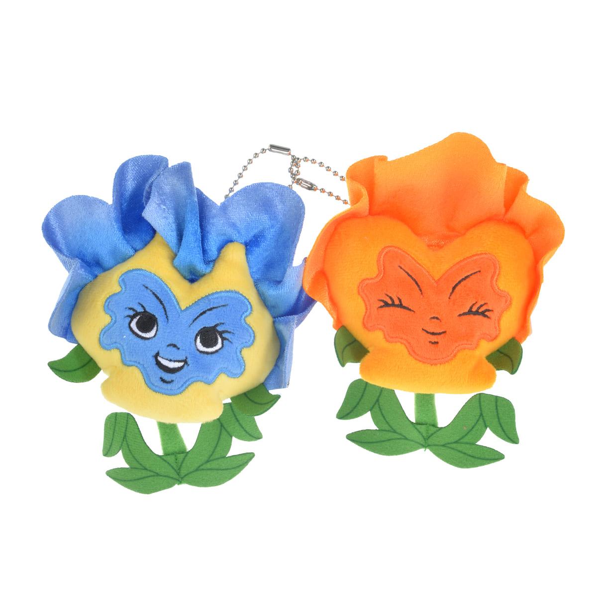 ぬいぐるみキーチェーン<花たち>