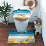 トイレマット・フタカバー 使用イメージ